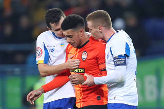 Soccer Football - Ukrainian Premier League - Shakhtar Donetsk v Dynamo Kiev