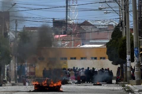Forças Armadas anunciam envio de tropas às ruas na Bolívia