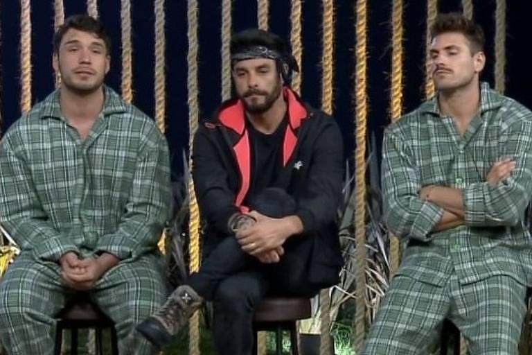 Lucas, Diego e Guilherme são indicados à roça