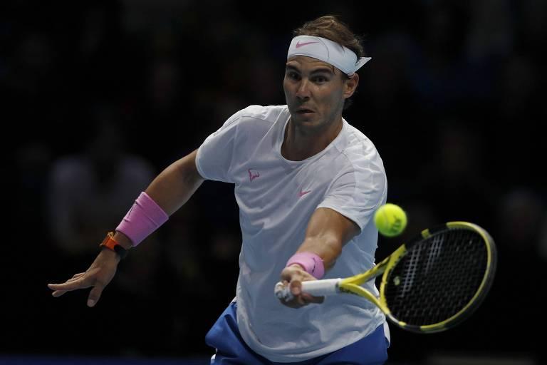 Nadal perde de Zverev na estreia do ATP Finals