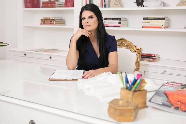 Marie Lafayette, estilista responsável por vestir Michelle Bolsonaro