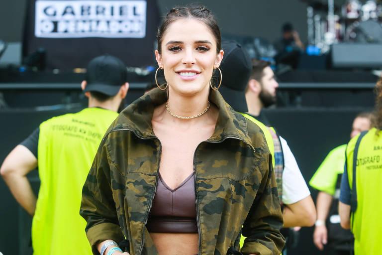 Rafa Brites no show do Gabriel, O Pensador no terceiro dia do Lollapalooza 2019