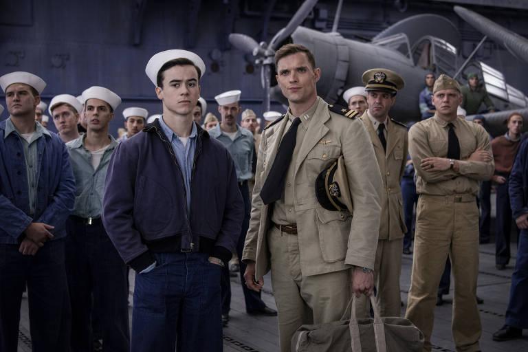 Veja cenas de 'Midway - Batalha em Alto Mar'