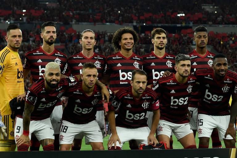 O time do Flamengo no Brasileirão já é a seleção do campeonato; todos, inclusive, o técnico Jorge Jesus, estão fazendo a diferença
