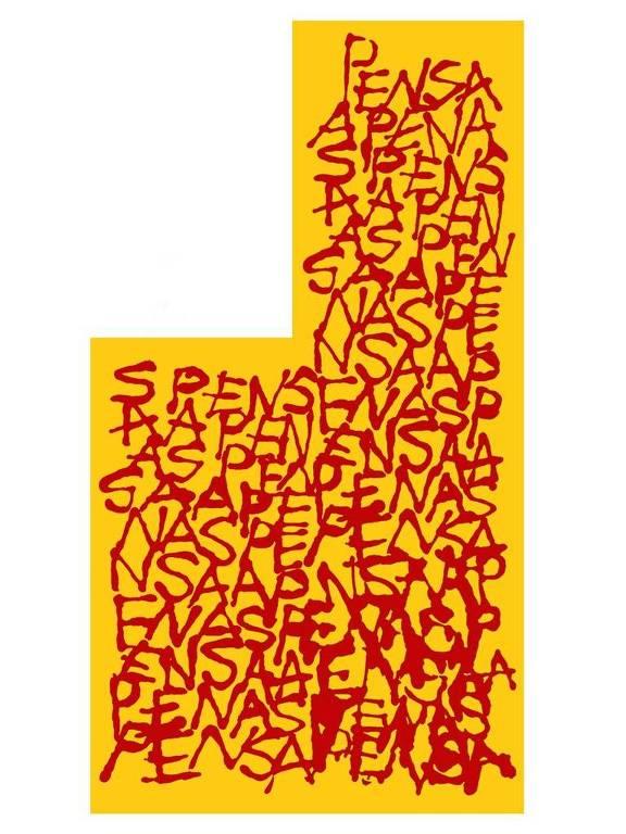 "Poesia ""Apenas Pensa"", de Arnaldo Antunes"
