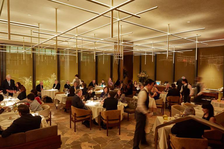 Restaurante nova-iorquino Four Seasons, que fechou em junho; Fasano ocupará o espaço