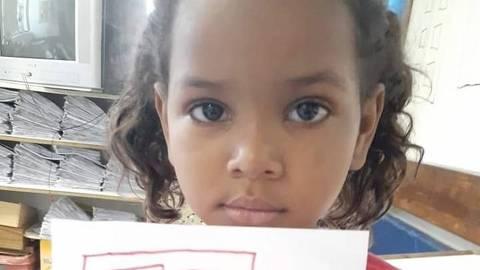RIO DE JANEIRO, RJ, 13-11-2019   -   A menina Ketellen Umbelino de Oliveira Gomes, de 5 anos, morreu depois de levar um tiro, na tarde desta terça-feira (12) em Realengo, na Zona Oeste do Rio. Credito:Reprodução