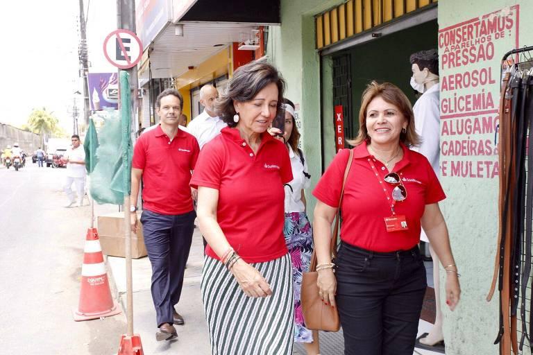 Ana Botín no Brasil