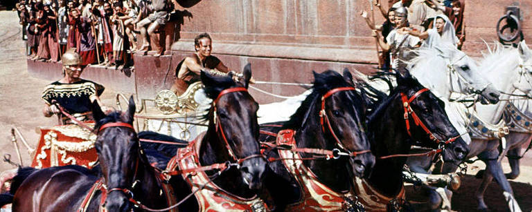 Cena do filme Ben Hur