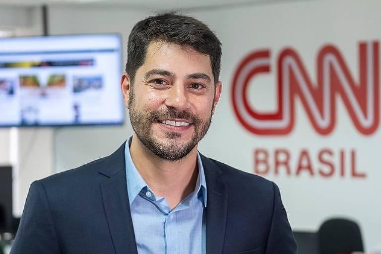 Evaristo Costa na CNN