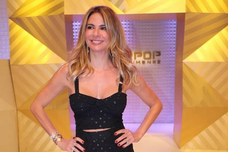 A apresentadora Luciana Gimenez