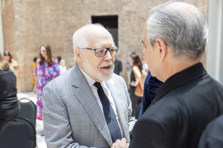 Ivoncy Ioschpe e Evelyn Ioschpe entregam obras em comodato à Pinacoteca