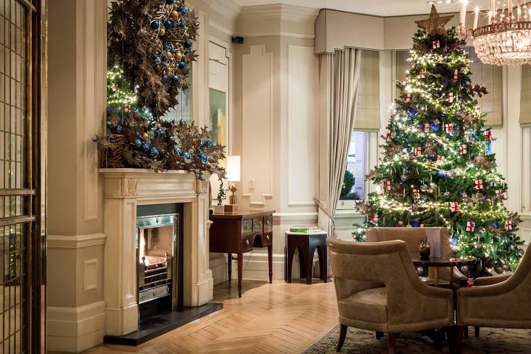 Hotel Kensington, que oferece um pacote especial de Natal