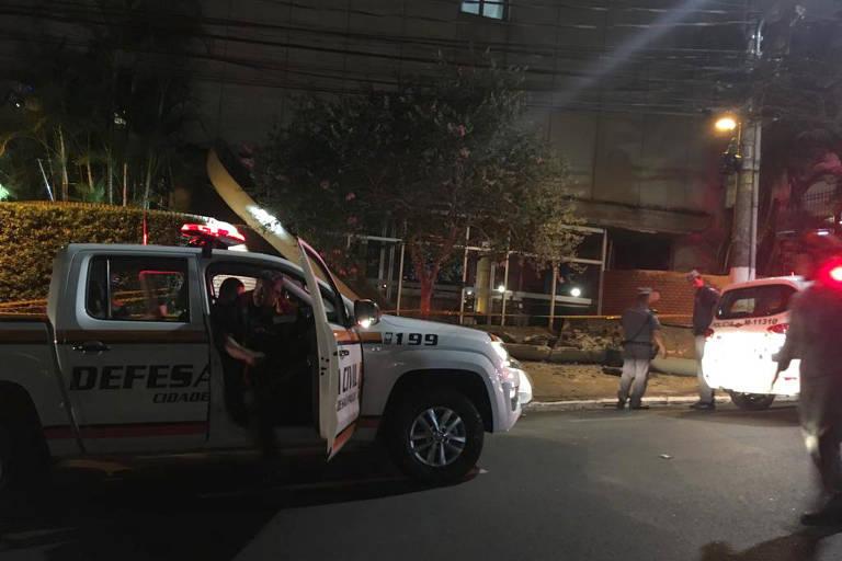Marquise cai e deixa um morto na zona oeste de São Paulo