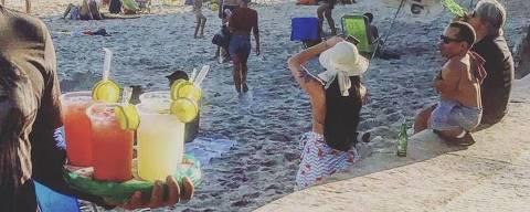 Caipirinha de ambulante de praia: beba por sua conta e risco