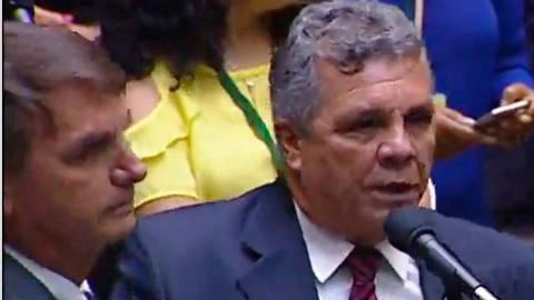 Bolsonaro quando era deputado no dia em que mataram Marielle