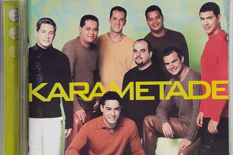 Capa do álbum do grupo Karametade