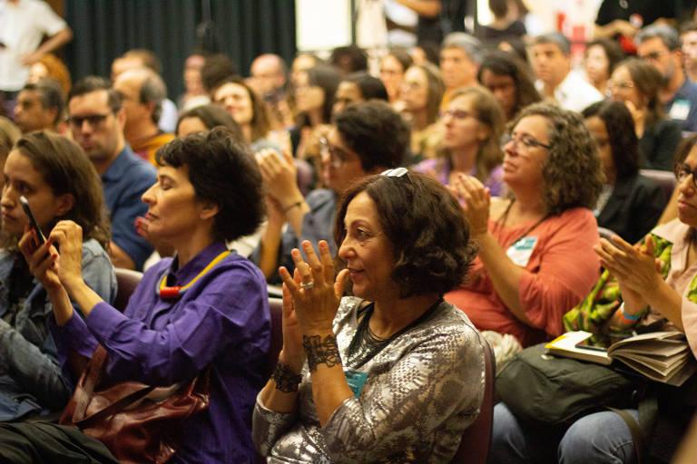 Festival ODS reuniu interessados pela pauta do desenvolvimento sustentável durante um dia inteiro de debates, painéis e oficinas na Biblioteca Mário de Andrade