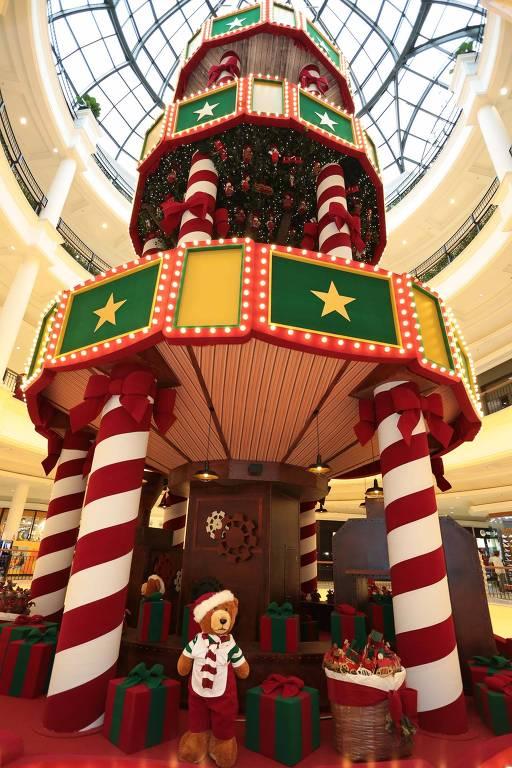 Decoração de Natal do Pátio Higienópolis
