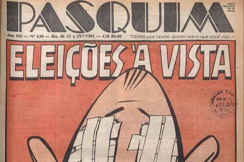 Capa de 29 de julho de 1981 do semanário carioca O Pasquim
