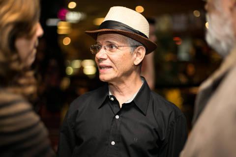 SÃO PAULO, SP, BRASIL, 17-11-2014: O multiartista Antonio Nóbrega, durante a pré-estreia do filme