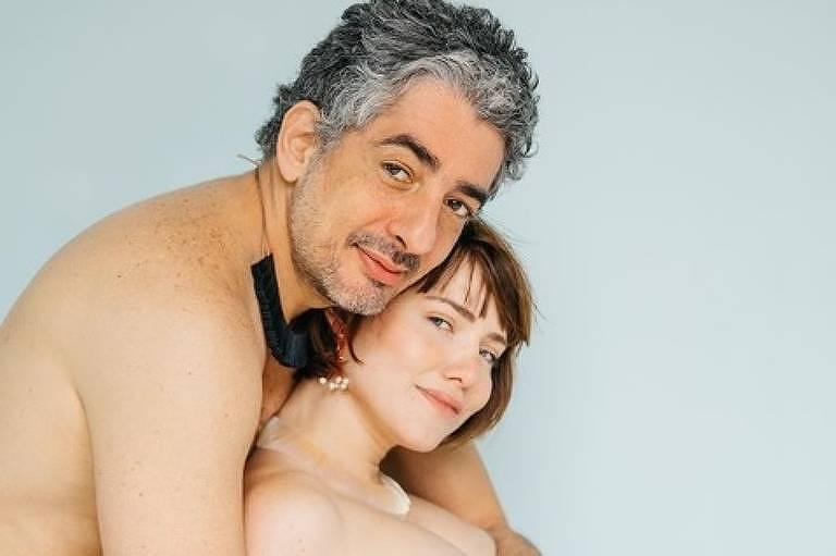Letícia Colin e o marido, Michel Melamed