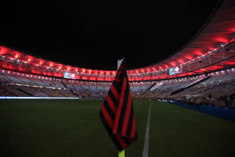 Maracanã em jogo do Flamengo no Campeonato Brasileiro de 2019