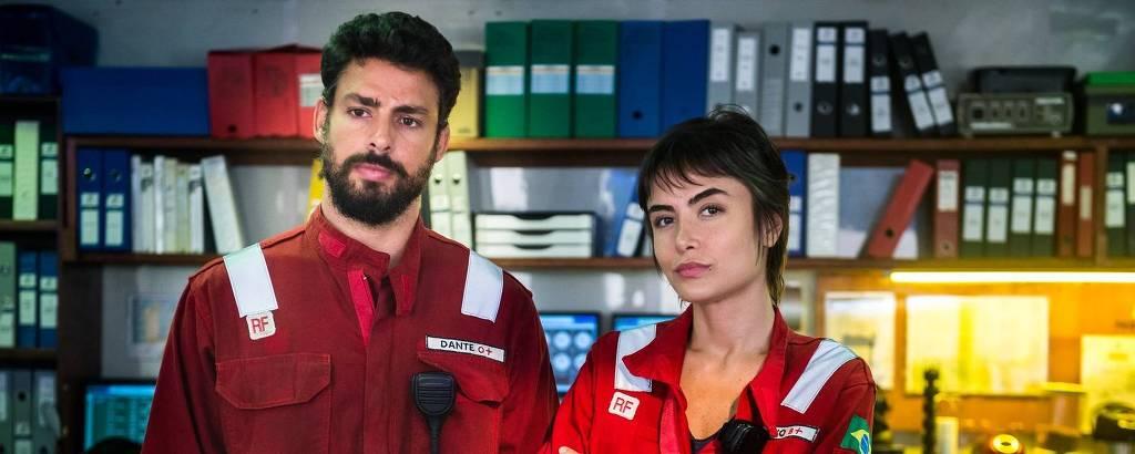 Dante (Cauã Reymond) e Júlia (Maria Casadevall) vão se reencontrar
