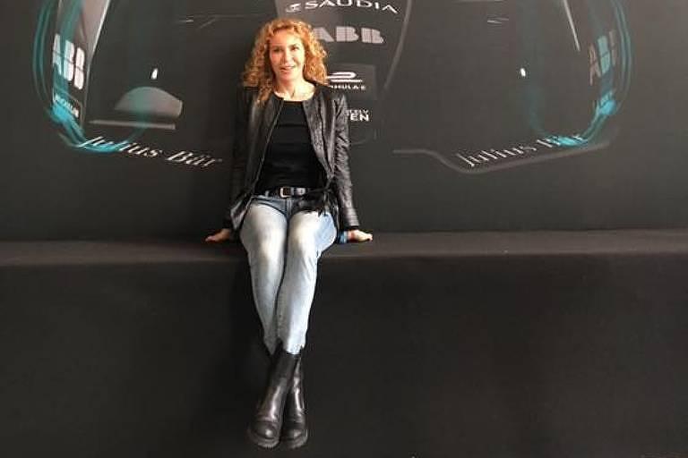 A ex-piloto italiana Giovanna Amati