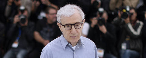 (FILES) In this file photo taken on May 11, 2016 US director Woody Allen poses during a photocall for the film