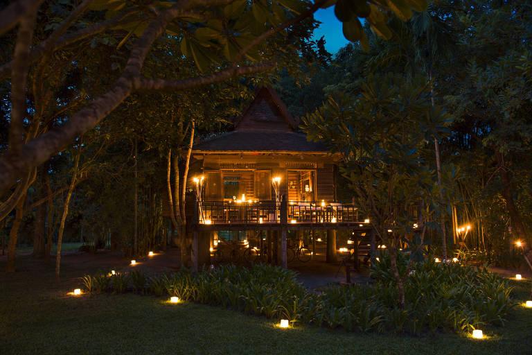 Siem Reap, no Camboja
