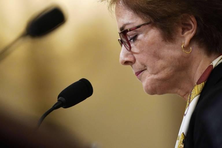 A ex-embaixadora dos EUA Marie Yovanovitch