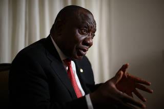 Cyril Ramaphosa / AFRICA DO SUL / BRICS