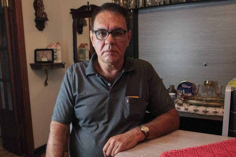 O aposentado Tadeu José de Camargo Moraes, 57 anos, de Guarulhos (Grande SP), acredita que seu cartão de débito foi clonado em uma máquina de autoatendimento na noite anterior