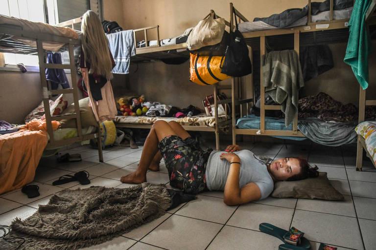A Casa Florescer, no Bom Retiro, é especializada no abrigo de travestis e trans em situação de vulnerabilidade social, em São Paulo