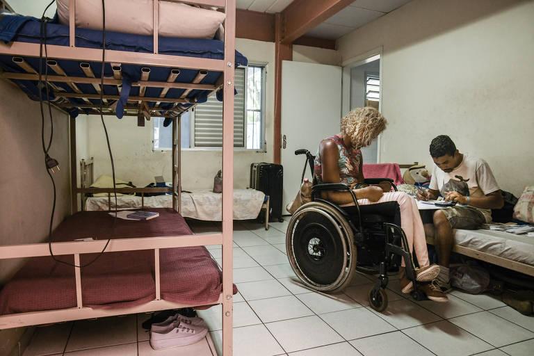 Casas de apoio para a população trans em SP. A Casa Florescer, no Bom Retiro, é especializada no abrigo de travestis e trans em situação de vulnerabilidade social, em São Paulo