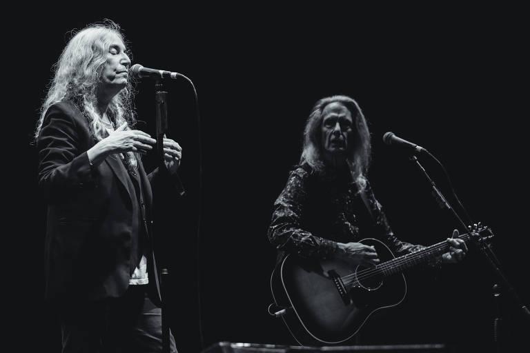 Patti Smith durante Popload Festival