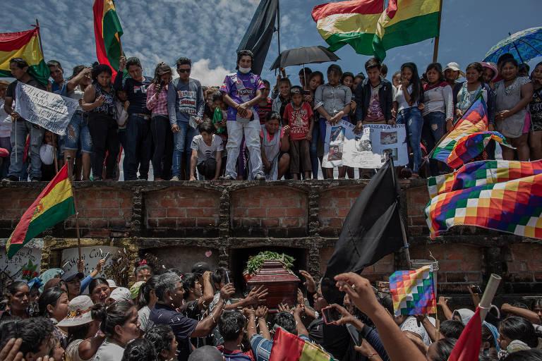 Confrontos na região de Santa Cruz, na Bolívia