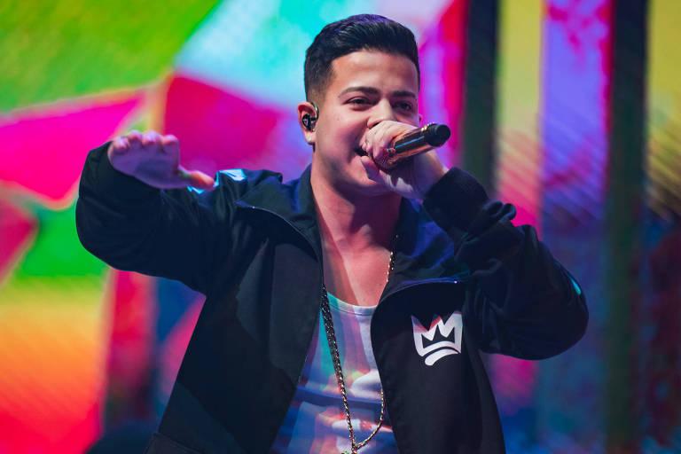 MC Jottapê se apresenta na final mundial de 'Free Fire'