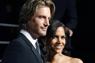 File photo of Halle Berry and Gabriel Aubry in West Hollywood