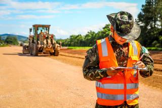 Obras em estradas sob Bolsonaro