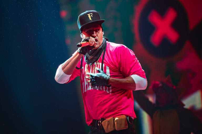 O rapper Mano Brown, do Racionais MC's
