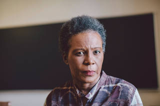 Claudia Rankine, a poet whose ?Citizen: An American Lyric? explores race and violence in the U.S., in Claremont, Calif.