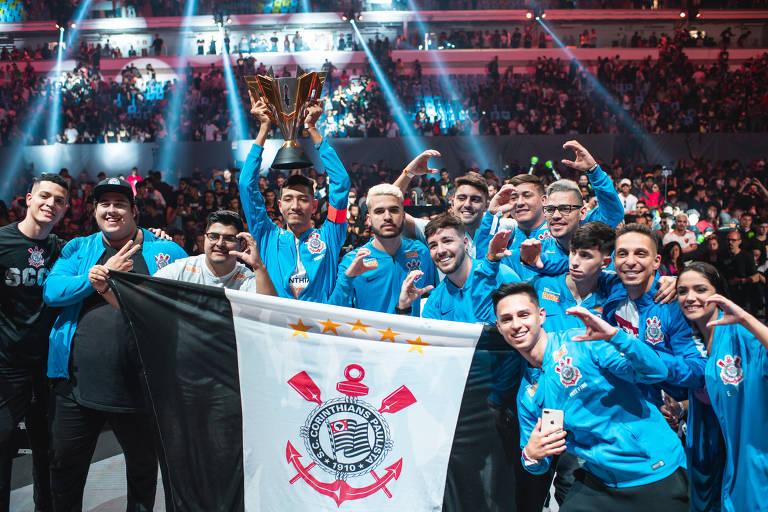 Com time anunciado há um mês, Corinthians vence campeonato mundial de Free Fire