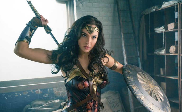 """Gal Gadot em uma cena de """"Wonder Woman"""""""