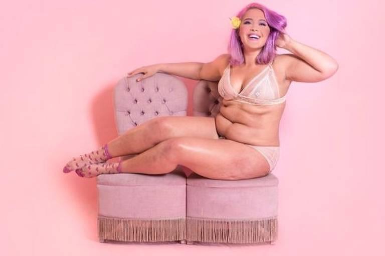 Megan Jayne Crabbe diz que o movimento de positividade sobre o corpo abriu seus olhos