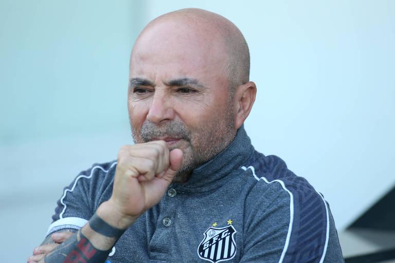 O argentino Jorge Sampaoli também foi alvo de comentários dos colegas brasileiros