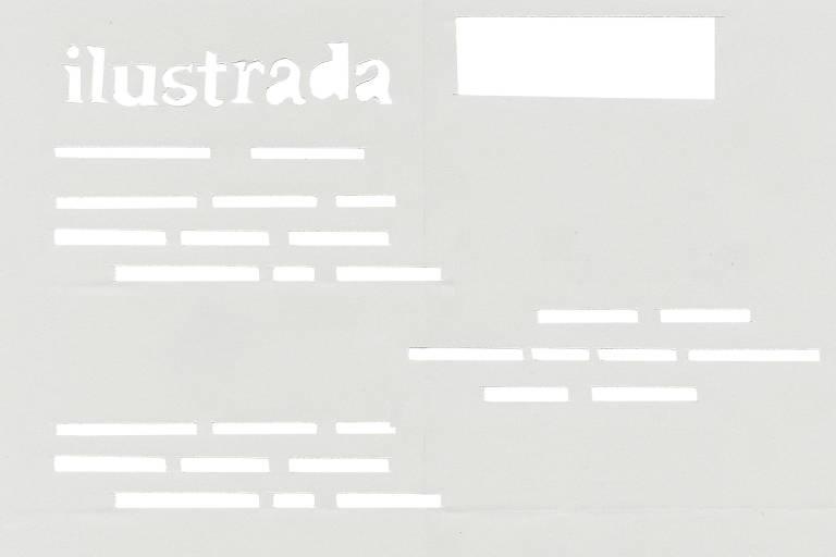 Ilustração para oc aderno Ilustrada