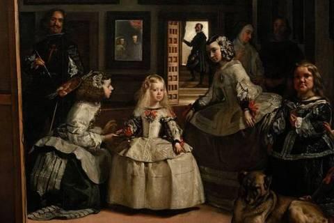 Quadro 'As Meninas' é a obra mais icônica do Museu do Prado, em Madri