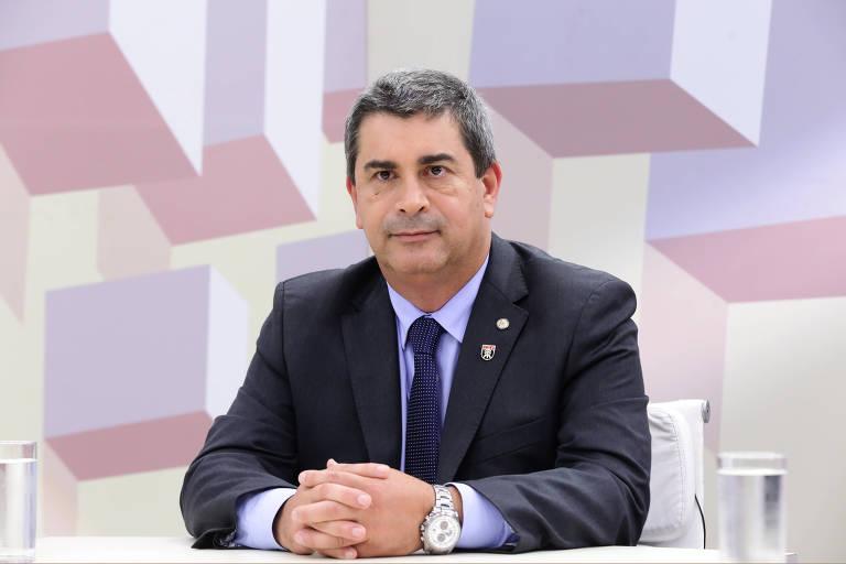 O deputado Coronel Tadeu (PSL/SP)